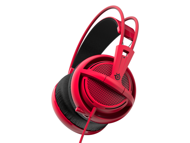 Слушалки SteelSeries Siberia 200 Forged Red