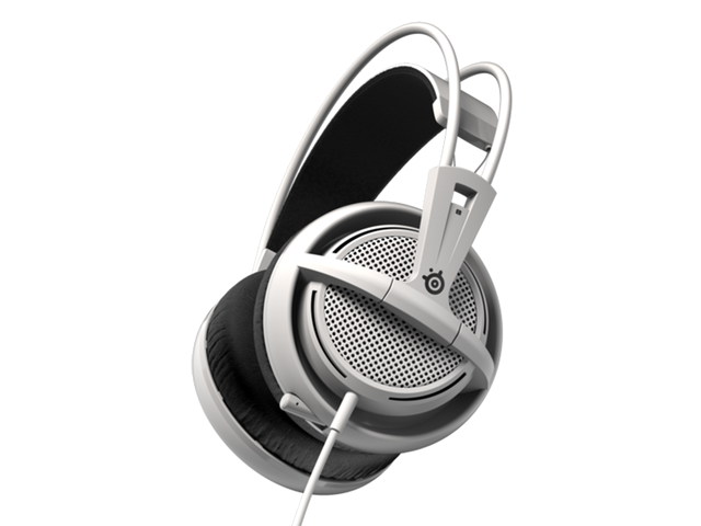 Слушалки SteelSeries Siberia 200 White