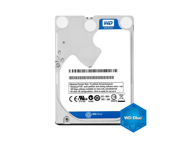 Твърди дискове Western Digital Blue Mobile 500GB/ 5400rpm