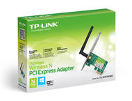 WiFi и LAN адаптери TP-LINK 150Mbps Wireless N PCI Express Adapter
