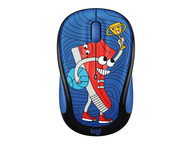 Мишки Logitech M238 Doodle Collection, SNEAKER HEAD
