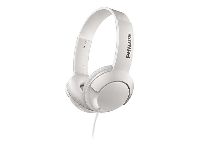 Слушалки Philips BASS+ SHL3070WT