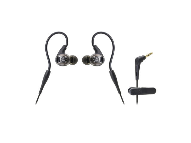 Слушалки Audio-Technica ATH-SPORT3BK SonicSport, Black
