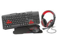 Слушалки Trust Ziva 4-in-1 Gaming Bundle