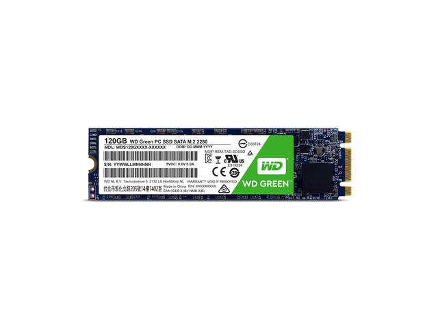 SSD 120GB M.2 2280 WD Green