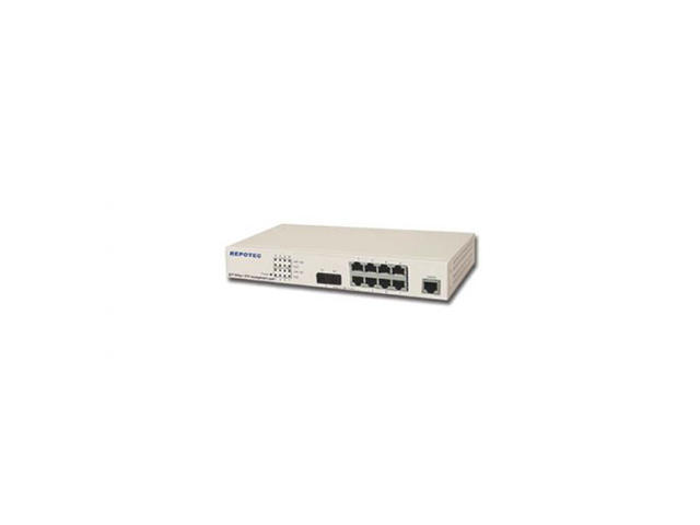 Рутери Repotec SWITCH RP-1708FC/8P 100MB+1 FX