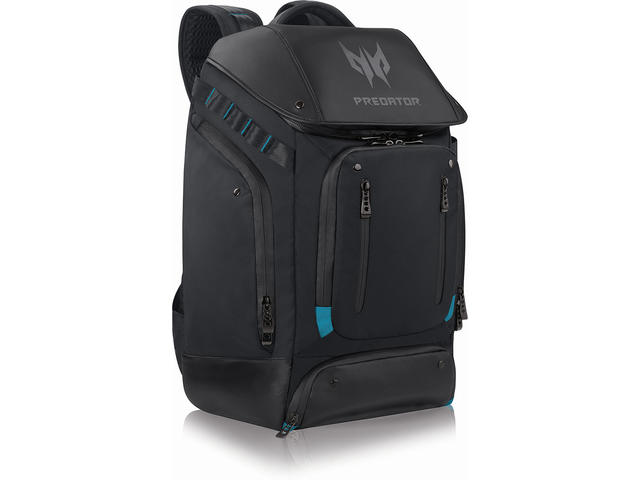 Чанти за Лаптопи Acer Predator Gaming Utility Backpack, Black + Teal
