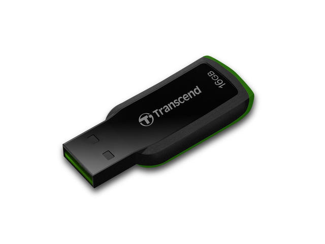 USB памети 16GB Transcend JetFlash 360, в зелено