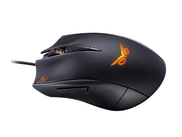 Мишки ASUS STRIX CLAW gaming mouse, dark