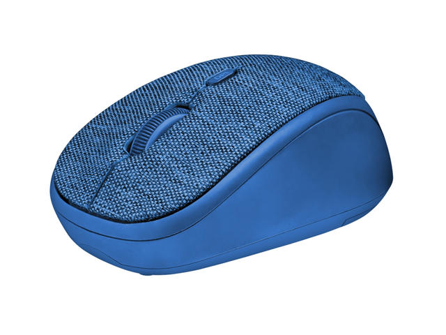 Мишки Trust Yvi Fabric Wireless Mouse, Синя