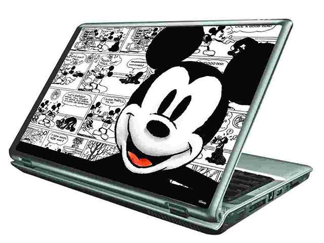 Чанти за Лаптопи Cirkuit Planet Disney Skin Mickey Comic2