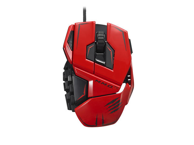 Мишки Mad Catz Cyborg M.M.O. Tournament Edition, червена