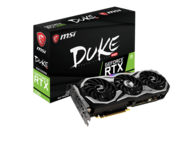 Видео карти MSI GeForce RTX 2080 DUKE 8G OC