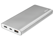 Батерии Trust Omni Thin Metal Powerbank 10.000 mAh USB-C QC3