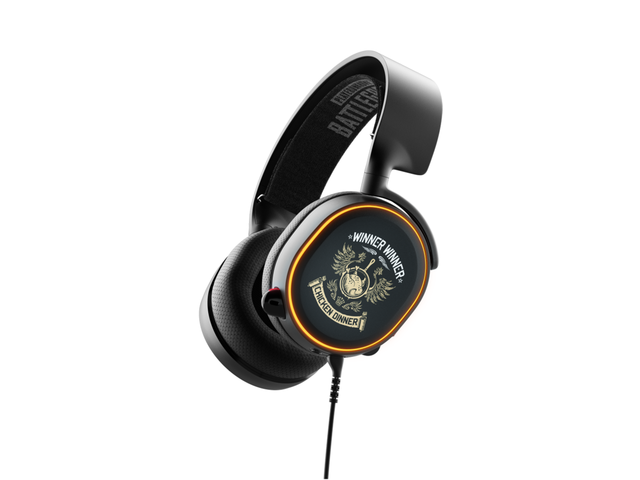 Слушалки SteelSeries Arctis 5 PUBG Edition 7.1