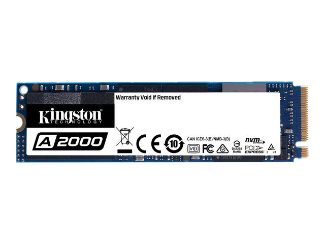 SSD 500GB KINGSTON A2000 M.2 2280 PCIE