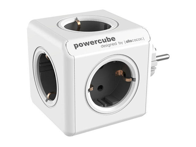 Разклонители Allocacoc POWER CUBE 1100GY 5outlets