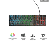 Клавиатури TRUST GXT 835 Azor Gaming Keyboard US