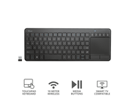 Клавиатури TRUST Vaia Wireless Touchpad Keyboard