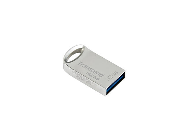 USB памети 32GB Transcend JetFlash 710,  в сребристо