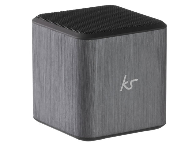 Колони KitSound Cube, в сребристо-сиво