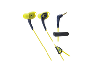 Слушалки Audio-Technica ATH-SPORT2NY SonicSport, в синьо-жълто