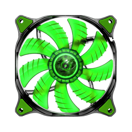 Cougar CFD120 GREEN LED Fan