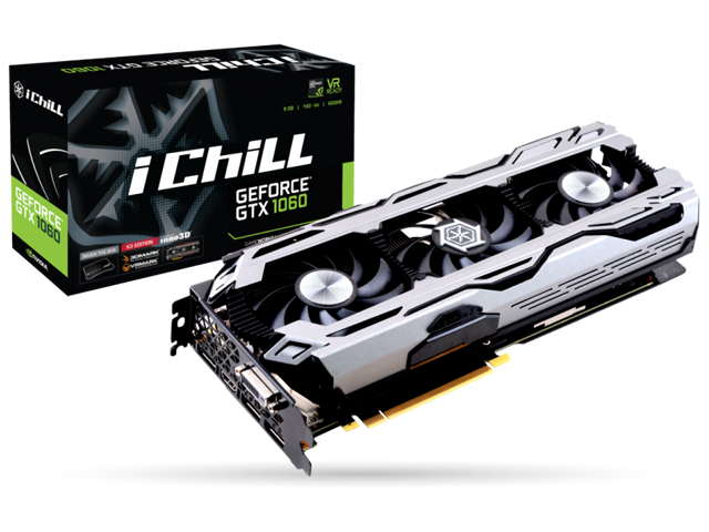Inno3D iChill GeForce GTX 1060 6GB X3