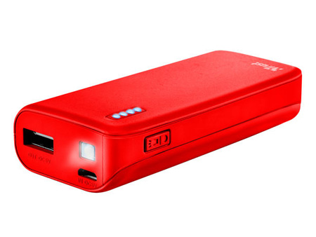 TRUST Primo Power Bank 4400 mAh, Red