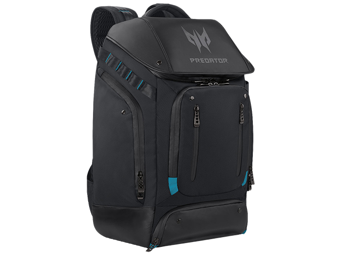 Acer Predator Gaming Utility Backpack, Black + Teal