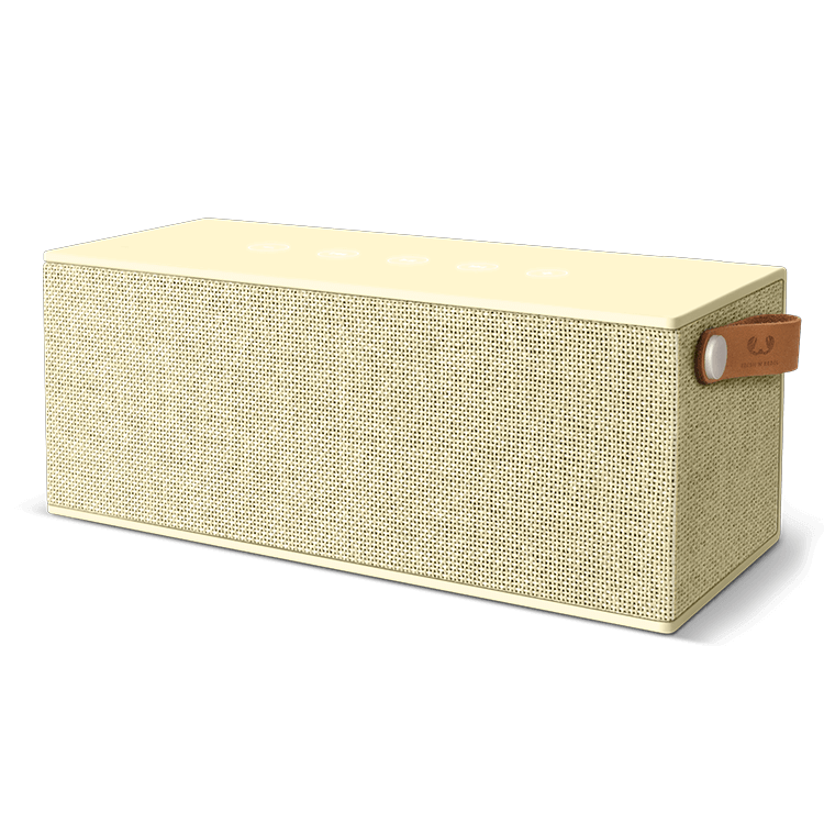 Fresh n Rebel ROCKBOX BRICK XL FABRIQ EDITION,  Buttercup