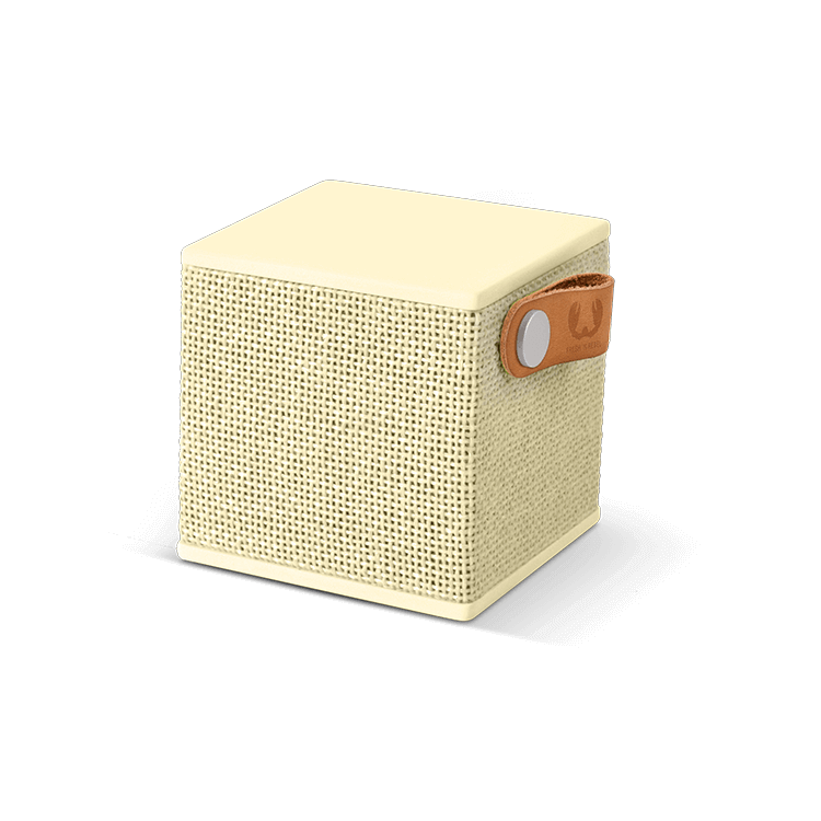 Fresh n Rebel Rockbox Cube Fabriq Edition,  Buttercup