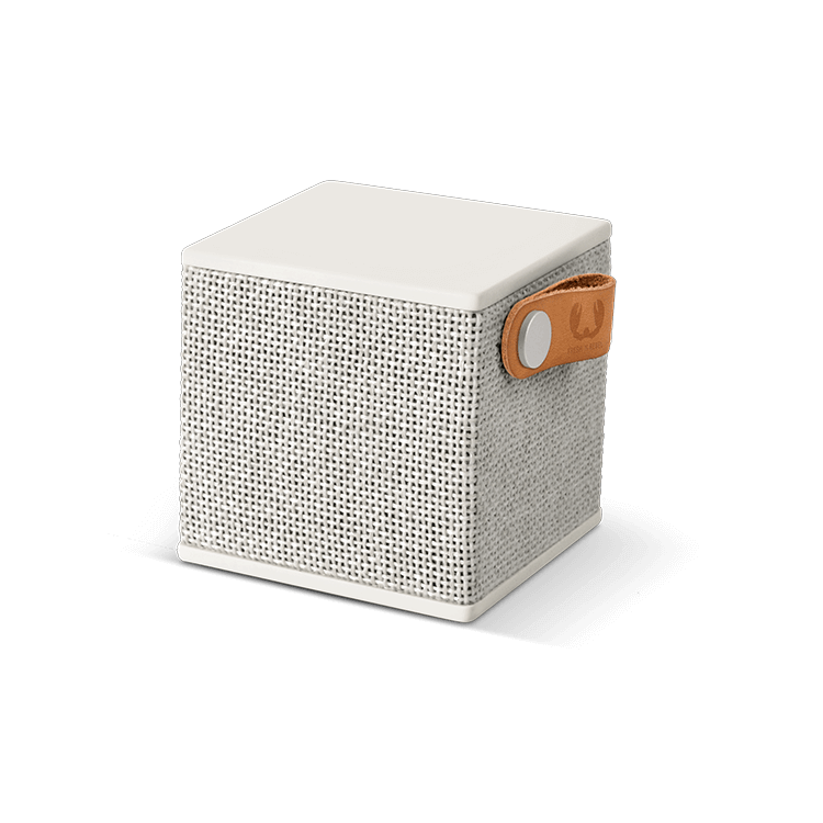 Fresh n Rebel Rockbox Cube Fabriq Edition, Cloud Grey
