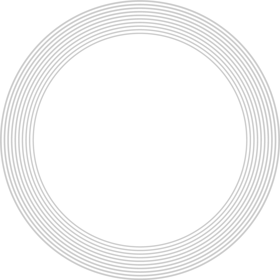 background with gray rings