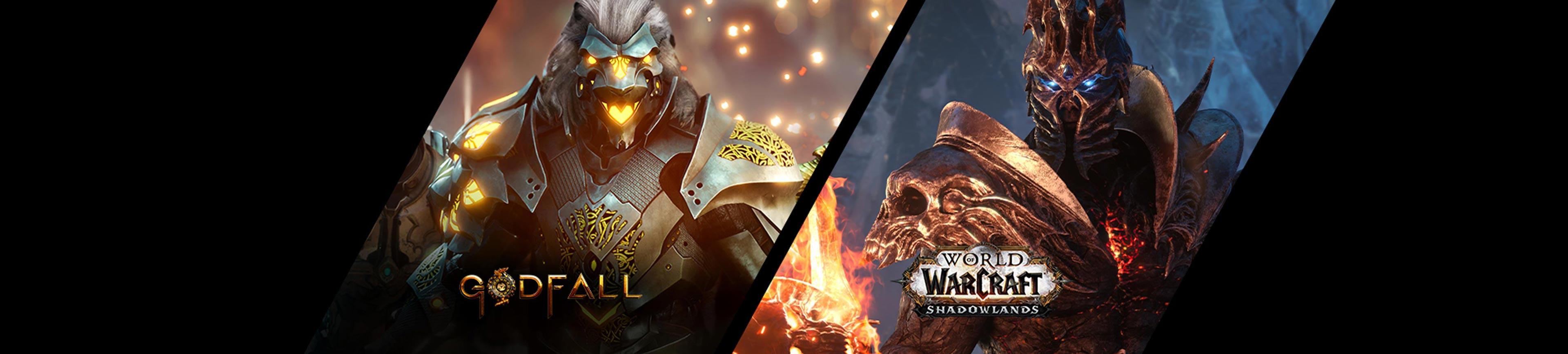 msi godfall and wold warcraft game bundle