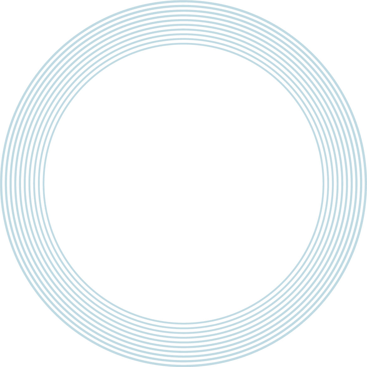 background with blue rings