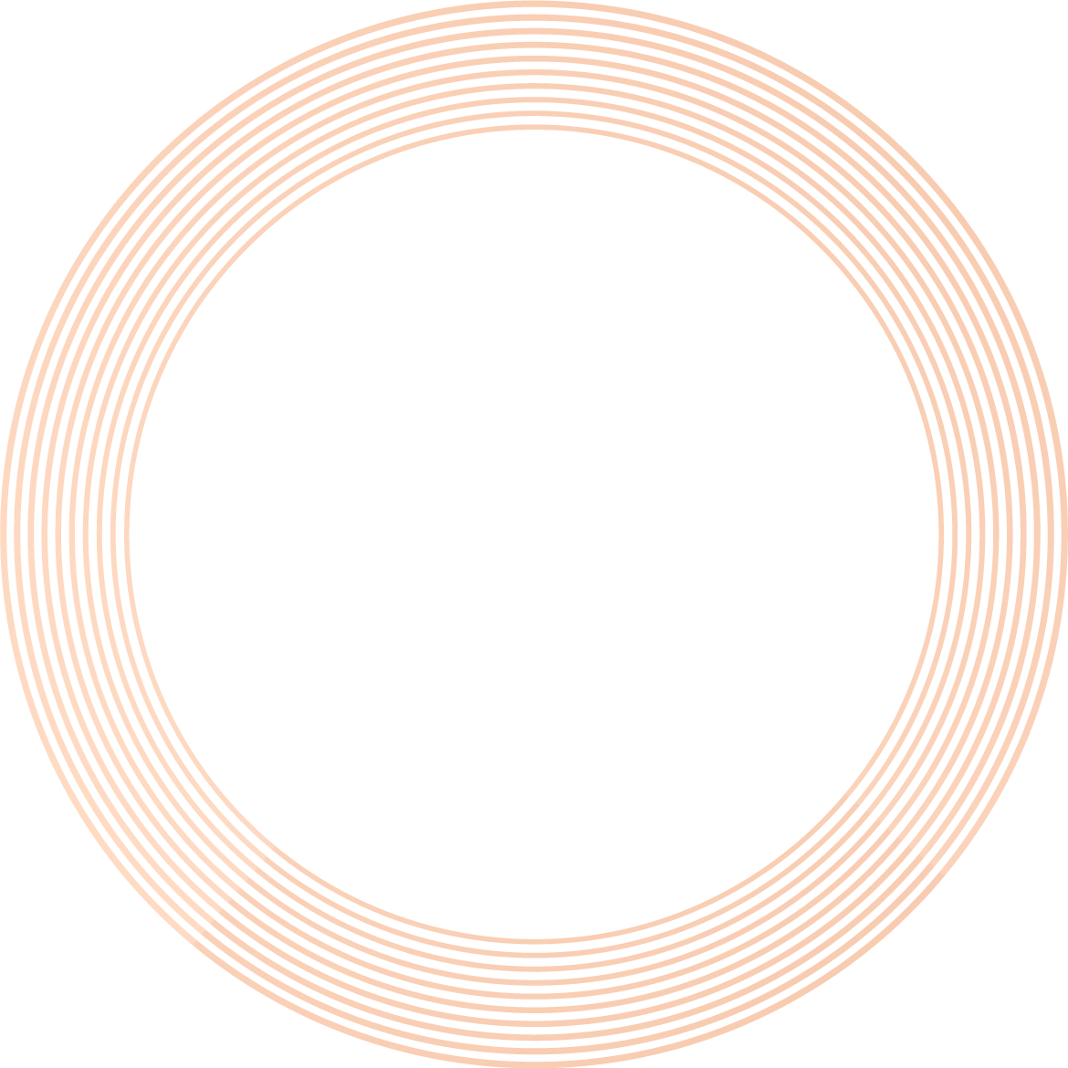background with red rings