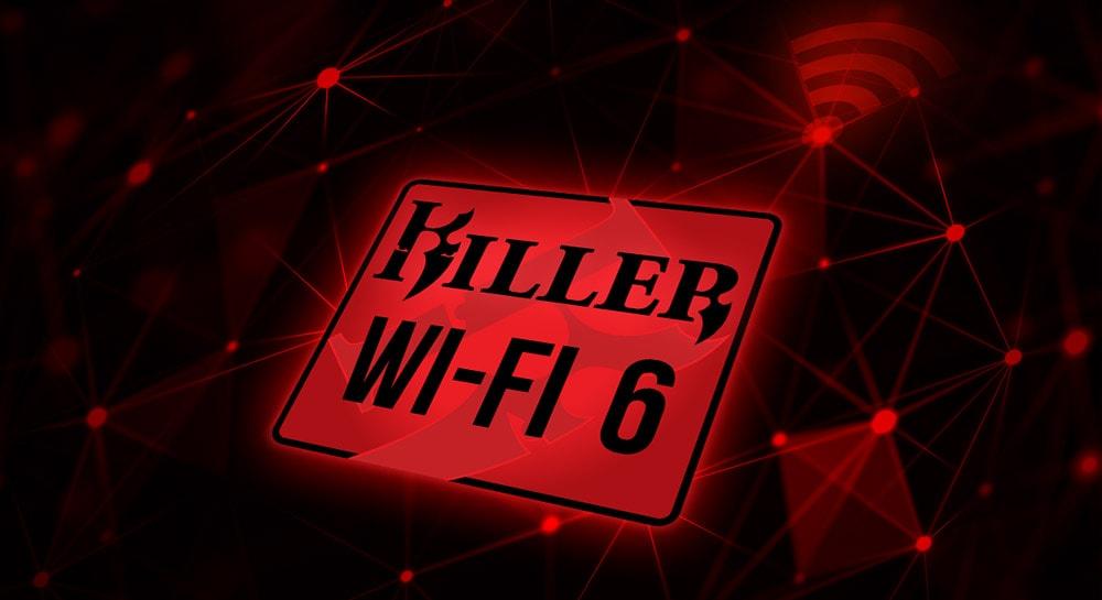 Killer Wifi 6